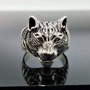 TIGER RING Sterling Silver 925 Big Cat UNISEX Animal Totem Exclusive Design Talisman