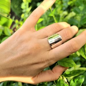 Shield Silver Ring Knuckle Ring STERLING SILVER 925 Modern Stylish Ring Gothic Biker Rocker Exclusive Gift