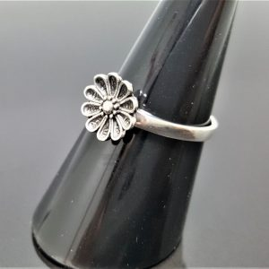 Daisy 925 Sterling Silver Ring flower Ring Floral Design