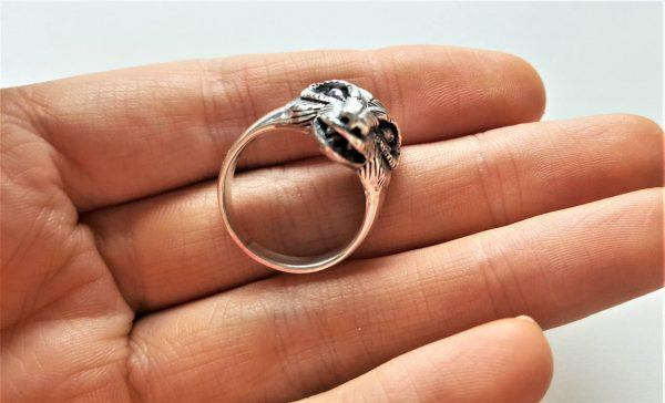Fox Ring 925 STERLING SILVER trickster Fox Totem Wisdom Exclusive Gift Talisman