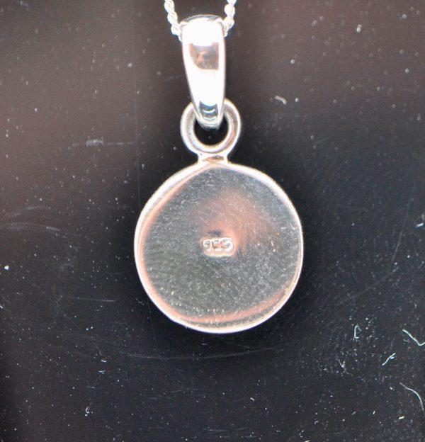 925 Sterling Silver Kundalini Swirling Pendant