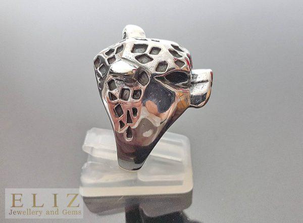 Cheetah .925 Sterling Silver Ring6'6.5' 7'7.5'8.5'9'10.5'11'