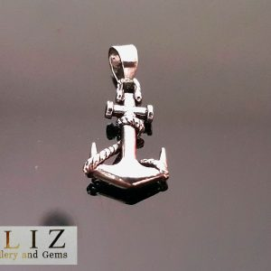 Sterling Silver 925 ANCHOR Sailor pendant